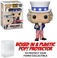 Funko POP! Icons ~ UNCLE SAM FIGURE ~ Exclusive ~ American History Series