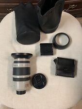Canon Reflex Lens CL 8-120mm f/1.4-2.1 Zoom Lens + 2 Shades +6 Filters