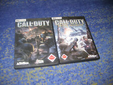 Giochi PC raccolta-Call of Duty 1 + United offensiva FSK 18 EGO Shooter
