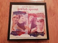 PREFAB SPROUT * JORDAN THE EP * CD EP BOX SET ( NO CD ) 3 X PRINTS AND POSTER