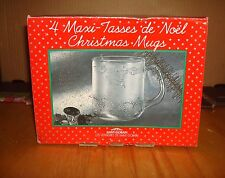 4 maxi - Tasses de Noel Christmas Mugs Cups