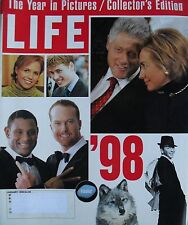 HILLARY & BILL CLINTON  SINATRA  PRINCE WILLIAM  KATIE COURIC Jan. 1999 LIFE