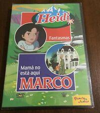 HEIDI FANTASMAS - MARCO MAMA NO ESTA AQUI - VOL 33 - DVD NEW NUEVO EMBALADO