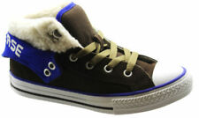 Chaussures marrons Converse à lacets pour garçon de 2 à 16 ans