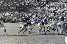 Buffalo Bills Lamonica VS Kansas City Chiefs Ed Lothamer 9-11-1966 8X10 Photo