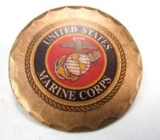United States Marine Corps Forged Copper Golf Ball Marker by Sunfish