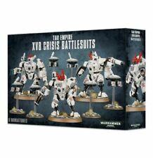 Tau Empire XV8 Crisis Battlesuits Boxed Set Games Workshop Warhammer 40k