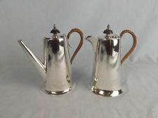 George V Silver Coffee Pot & Hot Water Set 1924