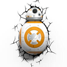 Lampara Led 3D pared Bb-8 Star Wars Disney