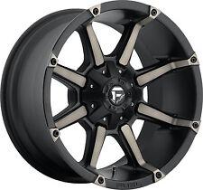 "20"" 20x10 Fuel D556 Coupler Black Wheels Rims 8x170 Ford Super Duty F250 F350"
