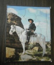 1950 Vintage Hopalong Cassidy Picture Puzzle Whitman Tray Puzzle