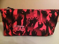 Walking Dead / Zombie Handmade Make Up Bag / Art Case