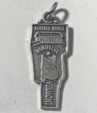 Vintage Vermont State Sterling Silver Charm