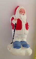 Antique Composition Santa