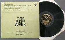 O695 Bach Cantatas BWV 106 & 182 Brüggen Leonhardt Hampe Telefunken AWT-9443-C