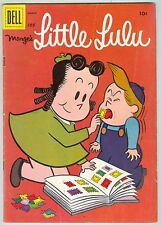 Marge's Little Lulu #105 March 1957 VG Stamp collection cover