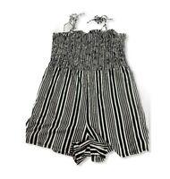 Women's Striped Sleeveless Knit Jumper - Xhilaration - XXL - Black/White - S455