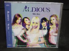 ALDIOUS We Are JAPAN CD Galmet Layla Raglaia Cyntia Japan Girls HR/HM !