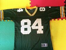 1995 Bill Schroeder Green Bay Packers #84 Starter Green Jersey Men's Size 48 / L