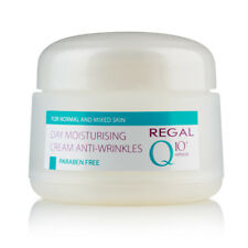 REGAL Q10+ MOISTURISING DAY CREAM ANTI-WRINKLES FOR NORMAL & MIXED SKIN 50 ml.