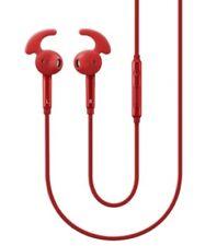 Auriculares rojos de interno intrauriculares para teléfonos móviles y PDAs