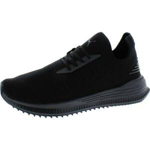 Puma Mens AVID EvoKNIT Black Athletic Shoes Sneakers 10.5 Medium (D)  3237
