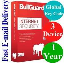 BullGuard Internet Security  3 Device / 1 Year (Unique Global Key Code) 2018