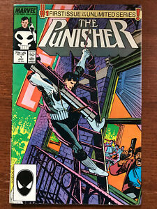 The Punisher #1 1987 Ongoing Series, Marvel Comics, Mike Baron, Klaus Janson