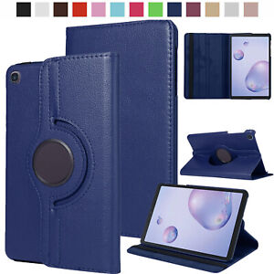 For Samsung Galaxy Tab A 8.0 2019 SM-T290/T295 Leather Rotating Stand Case Cover