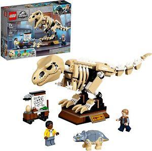 LEGO Jurassic World 76940 T. rex Dinosaur Fossil Exhibition Building Kit
