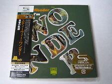 "Stevie Wonder ""Where I 'm coming from"" Japan mini lp SHM CD"