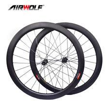 50*25mm 700C Carbon Wheelset Road Bike Wheels Disc Wheel Clincher for SRAM XD