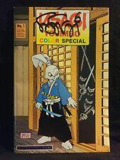 USAGI YOJIMBO COLOR SPECIAL #1 SIGNED BY STAN SAKIA