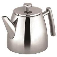 100% Genuine! AVANTI Modena Double Wall Teapot 1.2L 18/8 S/S! RRP $119.00!