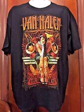 Van Halen tattoo 2012 Tour black concert short sleeve T shirt Size XL New WOT