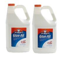 Elmer's Glue All Purpose Arts&Craft Repair Washable Liquid White Drys Clear 2Gal