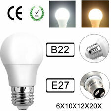LED Bulb E27/B22 7W-18W Bayonet/Screw Cool White+Warm White Desk Lamp Blub