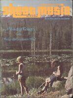 Sheet Music Magazine Nov 1978 Country Porter Gershwin Desperado Synthesizers