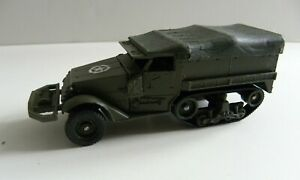 1/50 MILITAIRE HALF TRACK M3 sur chenille Solido France sans boite