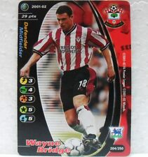 FOOTBALL CHAMPIONS PREMIER LEAGUE 2001-02 - WAYNE BRIDGE - 204/250 Southampton