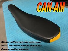 CAN AM DS450 2008-15 new seat cover for CANAM DS 450 Black and Yellow 245A