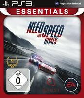 SONY PS3 Need For Speed: Rivals NFS Kult Renn Spiel Racing Game OVP deutsch komp