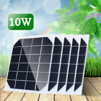 5Pcs 10W 6V Mini Solar Panel Cell Power Module Battery Toys Charger Light DIY