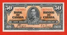1937 $50 Bank of Canada Coyne-Towers B/H Prefix BC-26c ZC 39 - 369.95 EF