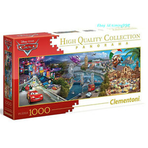 Clementoni Red Car Fairy Tale 1000 Piece Adult Decompression Puzzles Toys New
