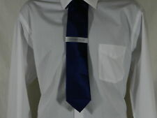 "Geoffrey Beene Solid Navy Blue Tie    Size:  58"" length"