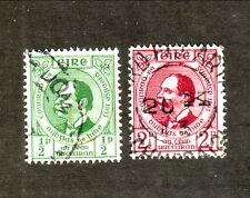 Ireland--#124-25 Used--1943 President Douglas Hyde