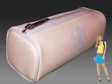 New Vintage PRINGLE Golf Cosmetics Make Up Pencil Case Style Bag Baby Pink