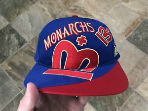 Vintage London Monarchs WLAF Reebok Snapback Football Hat
