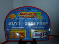 RARE VTG MAJORETTE SONIC FLASHERS BONUS PACK CHAMPION TEAM RACING CORVETTE ZR 1